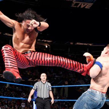 Nakamura UFC WWE firma K1 récord en MMA Sinsuke Nakamura