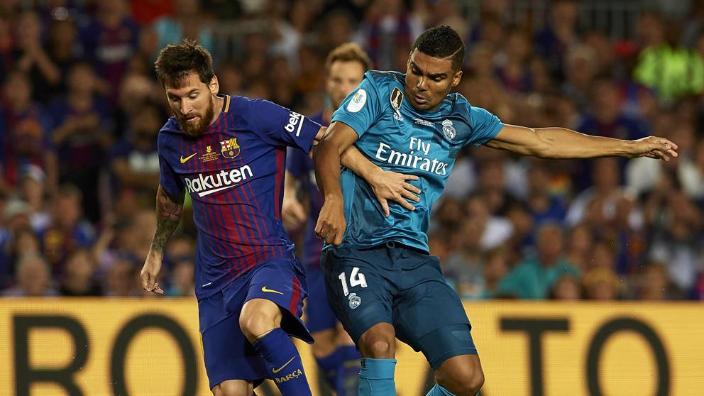 Donde ver A qué hora Supercopa Real Madrid Barcelona
