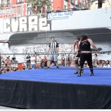 lucha libre, España, Madrid, debut lucha libre mexicana, Resistencia, La Paloma