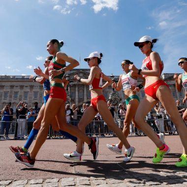 Lupita González, atletismo, marcha, Mundial Londres, México, plata