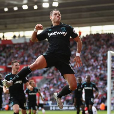 Javier Hernández Chicharito Doblete West Ham