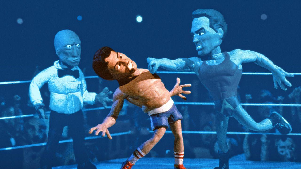 MTV Celebrity Deathmatch Lucha Libre WWE
