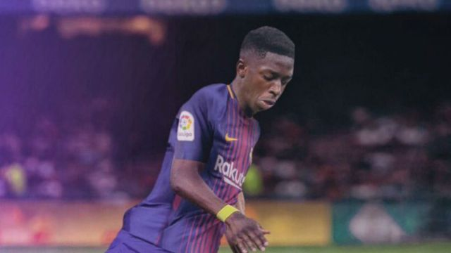 Dembélé, Barcelona, Presentación, dominar balón, refuerzo, sufrió, aficionados