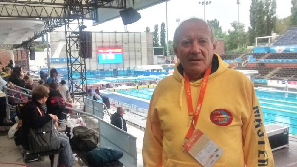 Fernando Álvarez nadador español minuto de silencio Barcelona