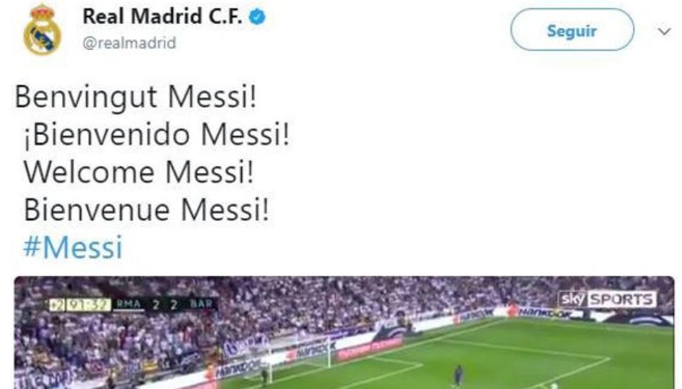 hacker, Real Madrid, Messi, Barcelona, liga de España, apropian de cuentas, twitter