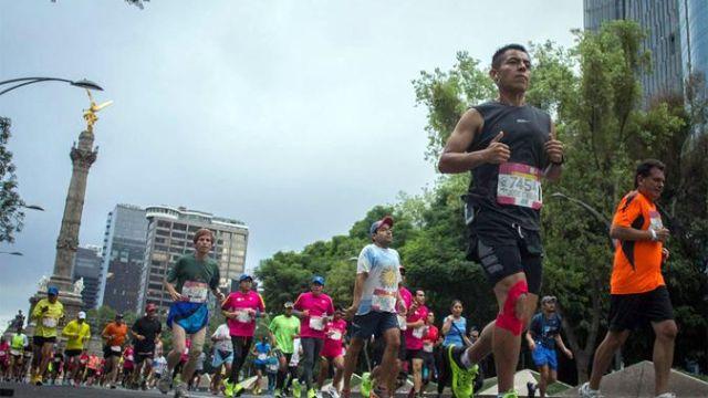 Maratón Ciudad de México, Maratón CDMX, pizza, cerveza, maratón, runners, corredores 42 kilómetros