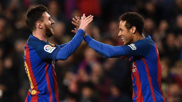 Lionel Messi Neymar Barcelona Balón de Oro