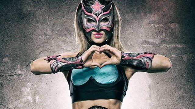 Sexy Star Triplemania XXV defensa Rosemary