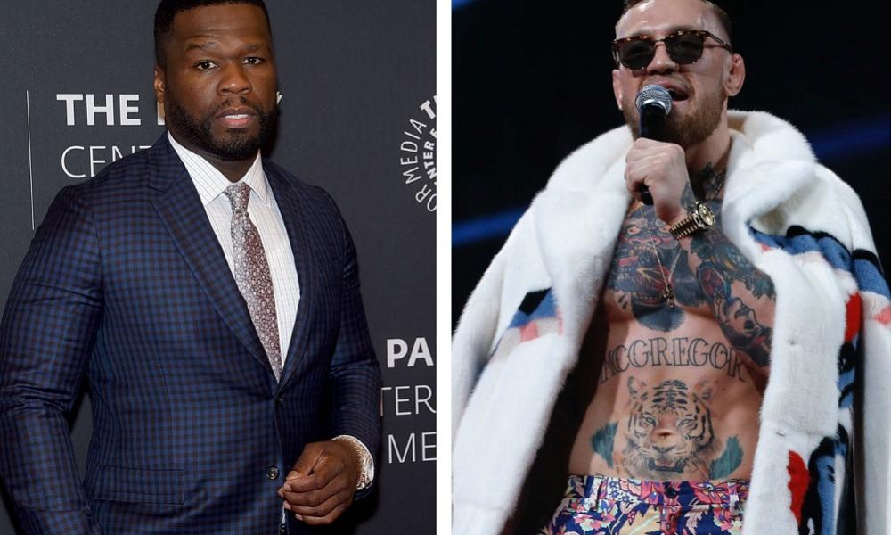 50 Cent McGregor pelea Mayweather Conor insultos en redes