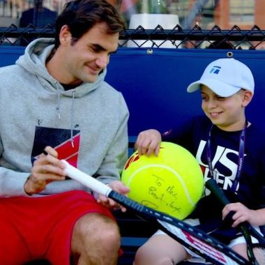 Marc Krajekian Roger Federer US Open Cáncer Sueño