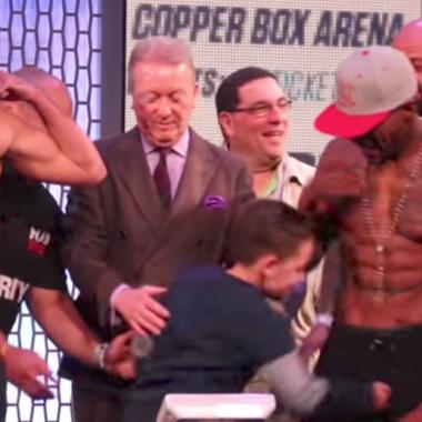 Billy Joe Saunders, Willie Monroe Jr. box, niño, hijo golpea a boxeador, Canelo Álvarez vs Gennady Golovkin, boxeo