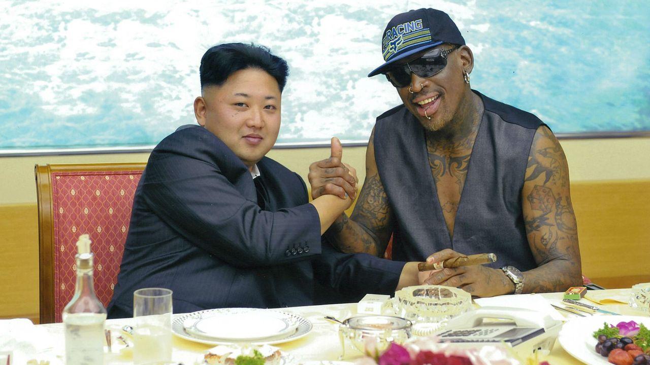 Rodman Corea del Norte Estados Unidos Trump Video Kim Jong-un