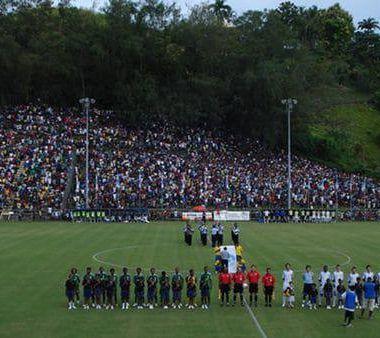 Nueva Zelanda Islas Salomón Estadio sin gradas