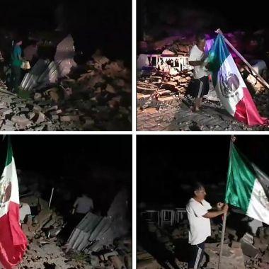 Chivas Sismo Juchitán Oaxaca Juchitan Guadalajara Bandera