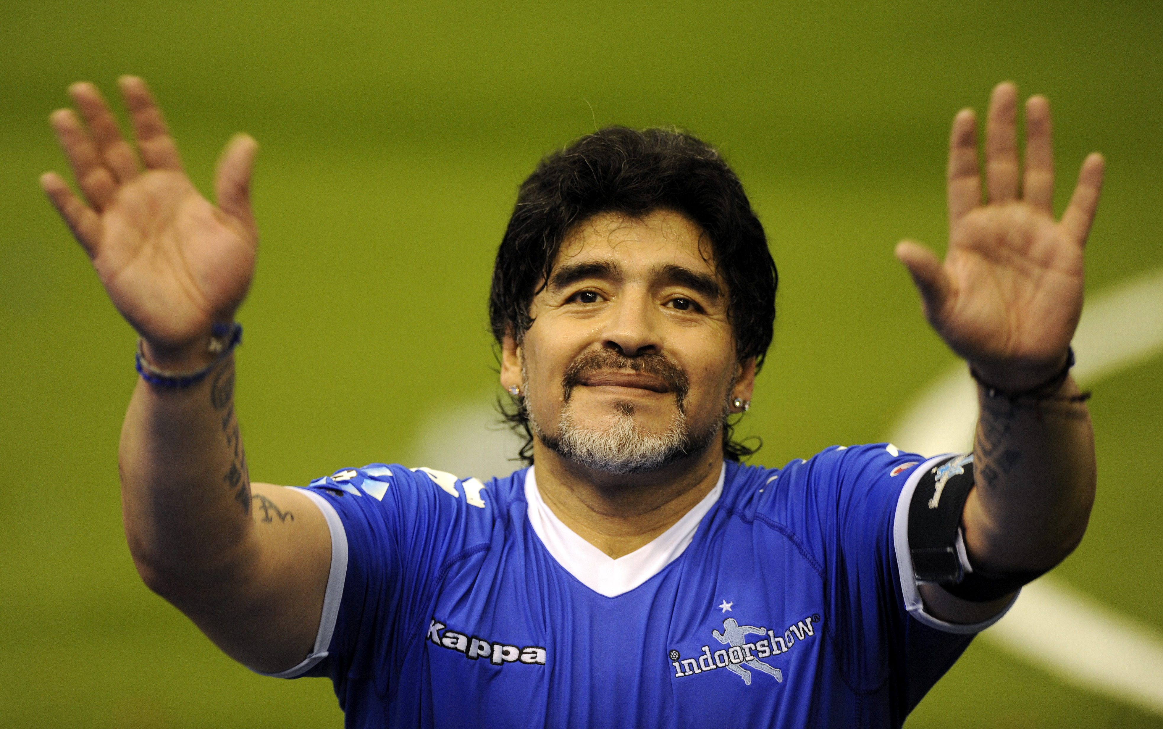 Maradona Cristiano México Sismo Neymar mensaje