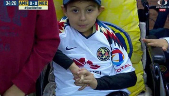 Invitado especial, Leonardo Farías, niño, recatado, sismo, América, estadio azteca, colegio Enrique Rébsamen