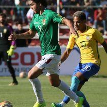 Marcelo Moreno, jugador, Bolivia, posa, foto, Selección de Brasil, Eliminatoria Mundialista