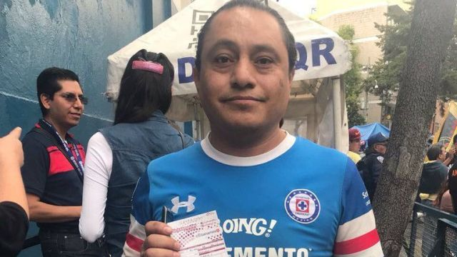 Aficionado, Cruz Azul, aparece, rescatado, sismo, estadio azul, chimalpopoca, s-19, Ciudad de México