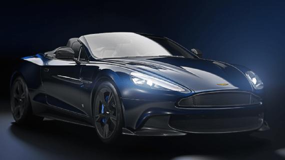 Tom Brady auto Aston Martin Patriots coche