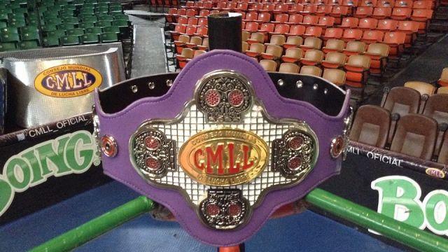 CMLL cinturón día de muertos rey del inframundo