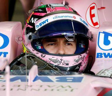 Sergio Pérez Checo Casco Subasta Pilotos F1