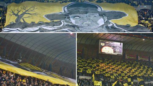 Undertaker Israel Beitar Jerusalem homenaje manta luchadores