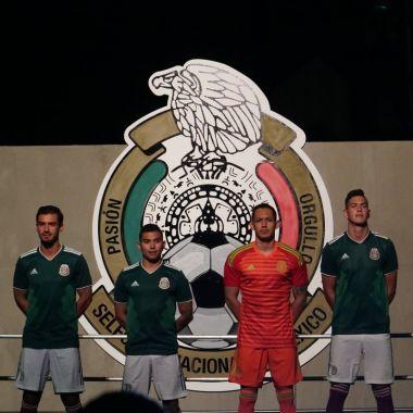 Jersey presentación playera Mundial Rusia 2018