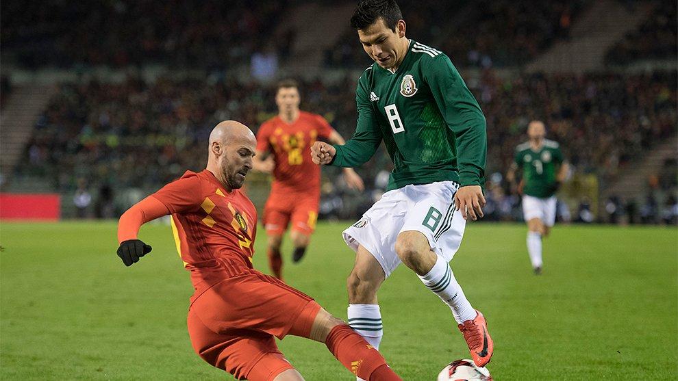 México Bélgica Video Chucky Hirving Lozano goles
