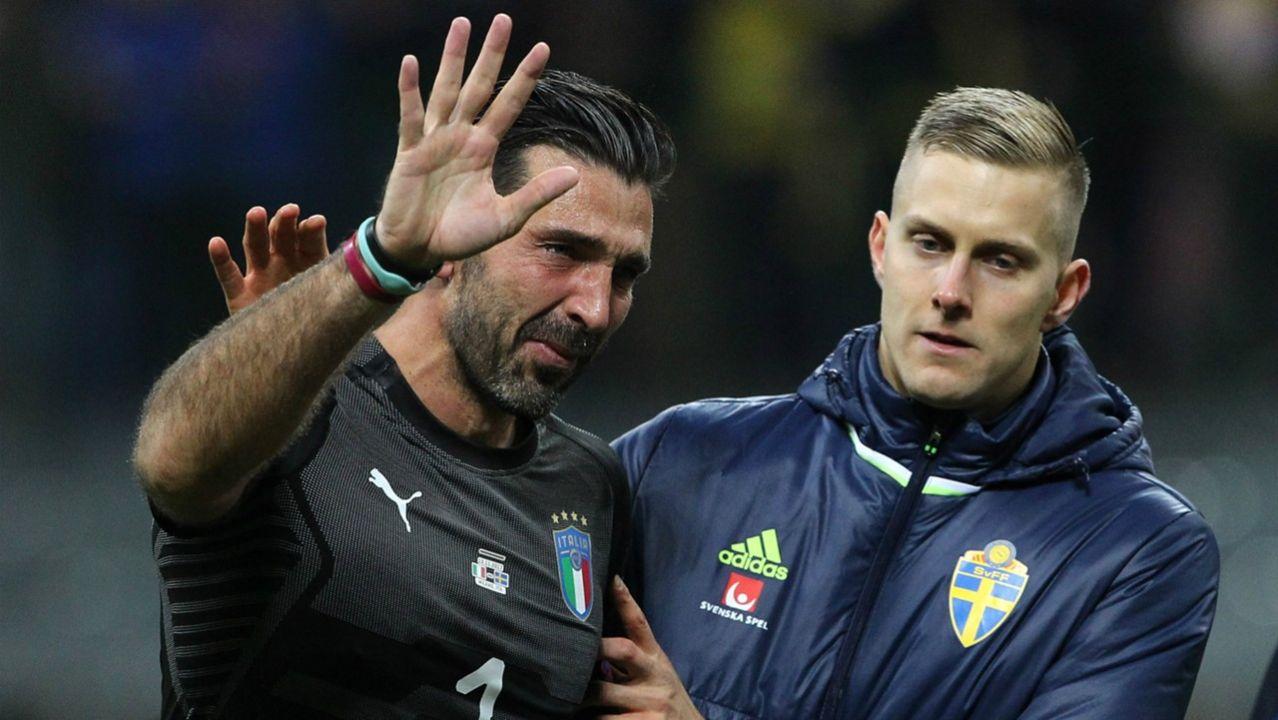 Gianluigi Buffon, lloramos, retiro, eliminación, momentos, historia, Selección de Italia, Mundial, Juventus