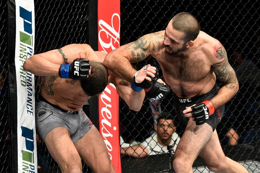 Codazo Diego Sanchez UFC Video Matt Brown