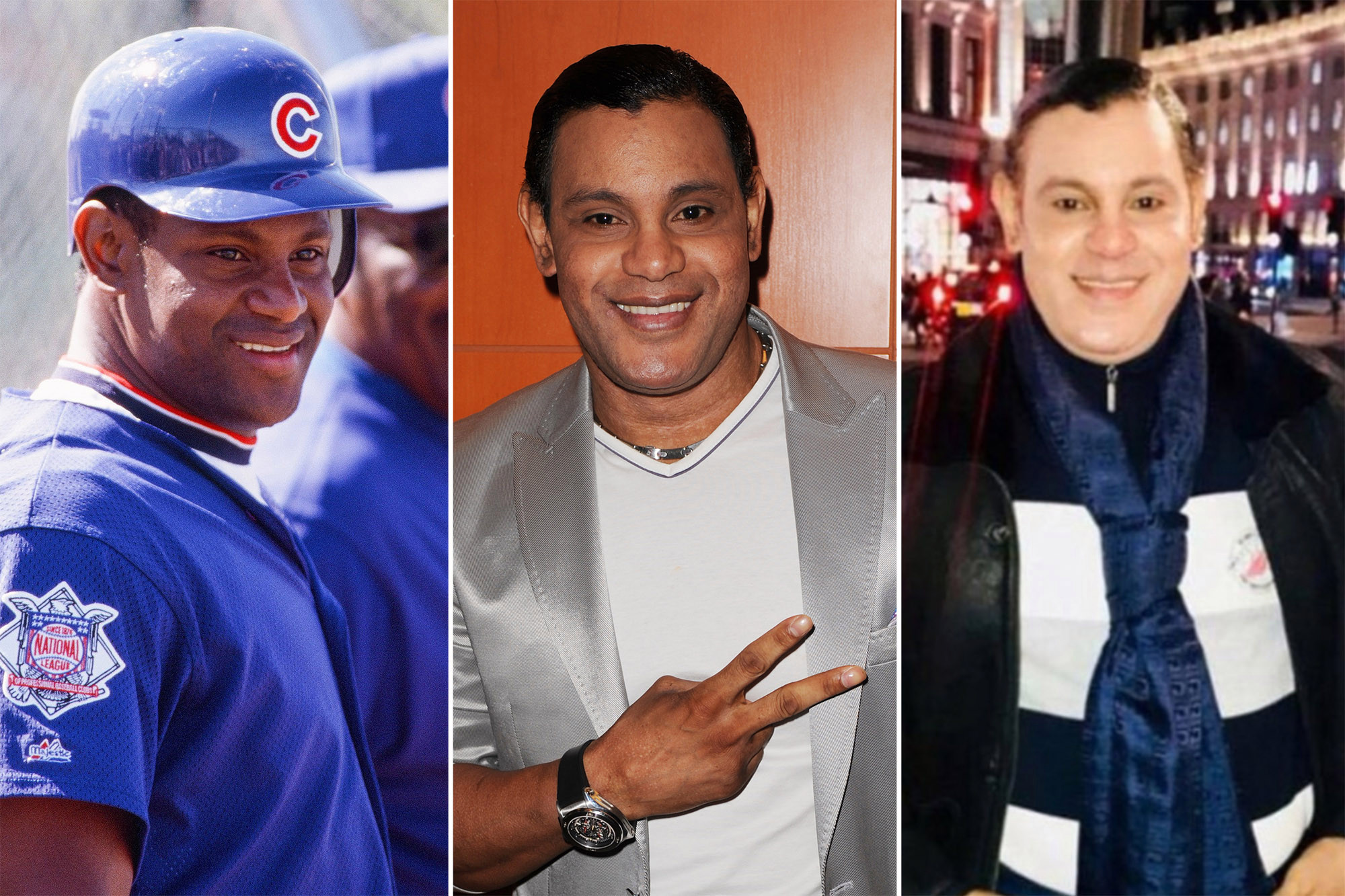Sammy Sosa color Cubs Grandes Ligas Chicago
