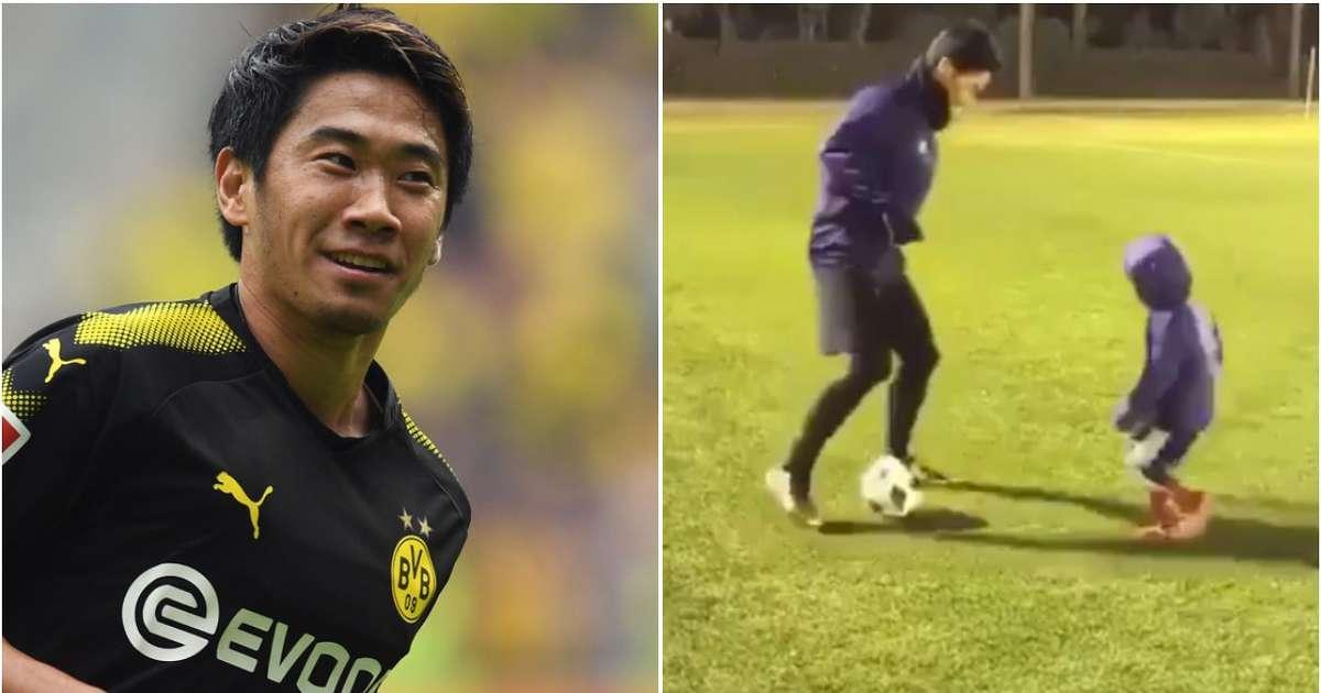 Shinji Kagawa niño video Borussia Dortmund Japón Mundial