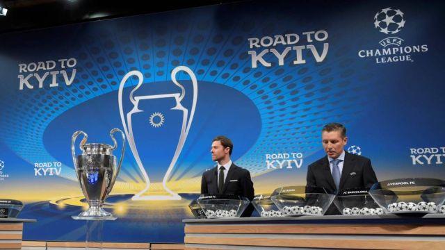 Champions sorteo partidos Europa League octavos de final