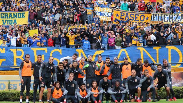 Ricardo Ferretti, abre puertas, estadio, afición, universitario, Libres y Lokos, último entrenamiento, previo final, Clásico regio, Liga MX