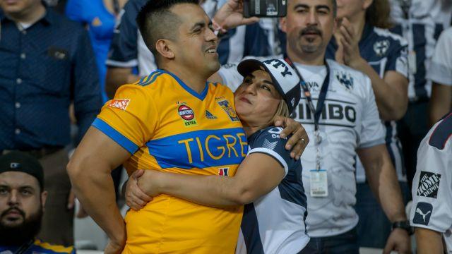 Afición Tigres Monterrey Rayados Basílica Oración Campeón Apertura 2017