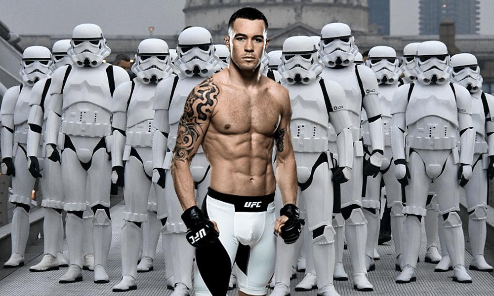 Star Wars Colby Covington UFC amenaza The Las Jedi spoilers