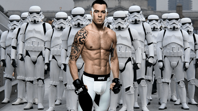 Star Wars Colby Covington UFC amenaza The Las Jedi spoilers