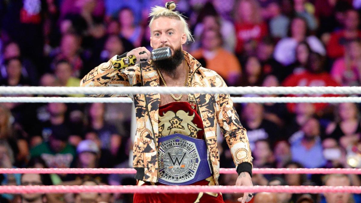 WWE Enzo Amore RAW violación 25 aniversario