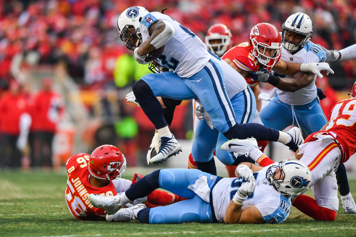 Kansas City, Titans, playoffs, Chiefs, Tennessee, Alex Smith, comodines, postemporada, resultados de postemporada, Kareem Hunt, Mariota, jefes