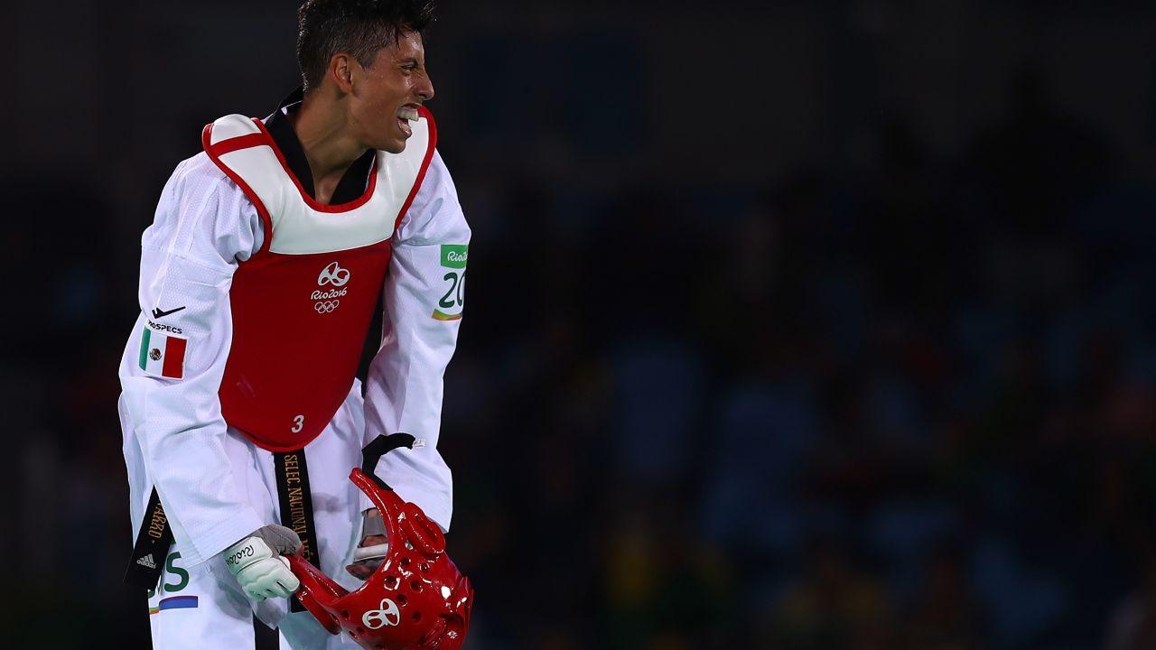 Taekwondoín, Carlos Navarro, mexicano, no da peso, Grand Slam, Taekwondo, China, queda eliminado, primera vez, que sucede