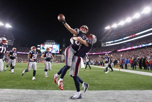 Jaguars Patriots resultado Tom Brady Fournette Bortles
