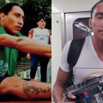 Atleta paralímpico Alejandro Pacheco México Metro cantando