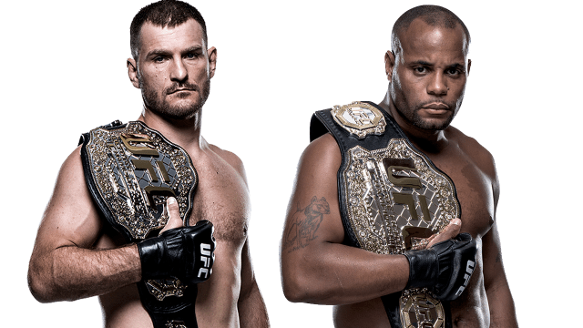 UFC Miocic Cormier Las Vegas UFC 226 Fight Week