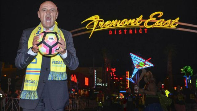 Chelís Las Vegas Lights Debut Primer partido