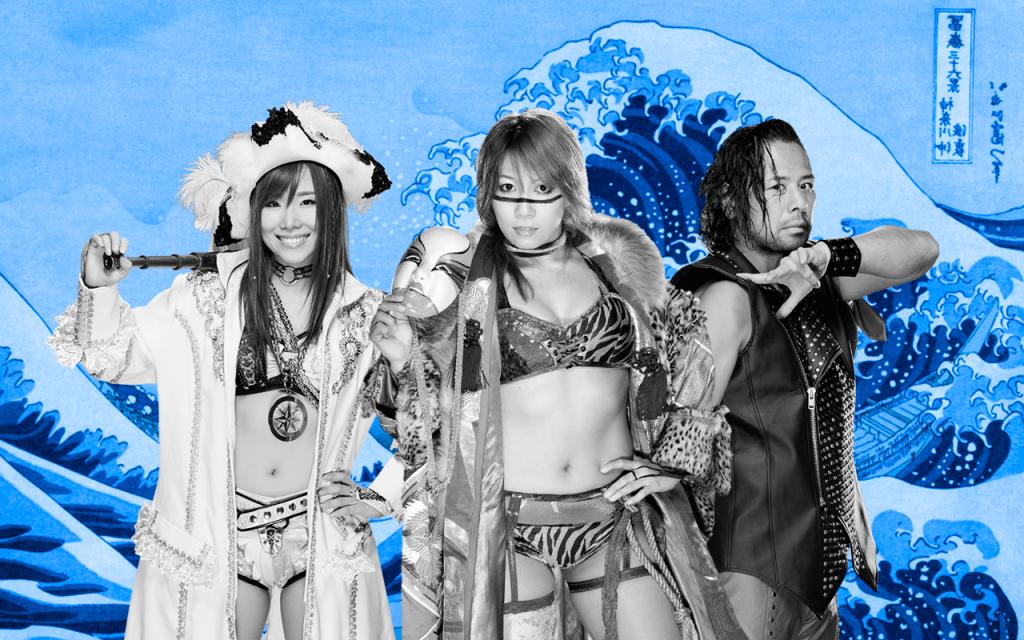 Asuka Sane Nakamura Imperio Japon WWE