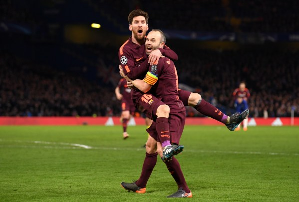 Barcelona Chelsea Champions League Octavos Final Empate