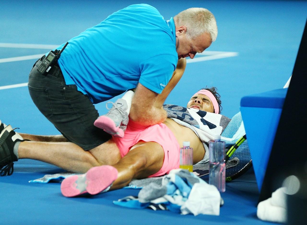 Rafael Nadal Australian Open 2018