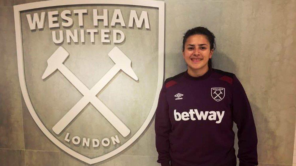 Carla Salcedo West Ham United Inglaterra