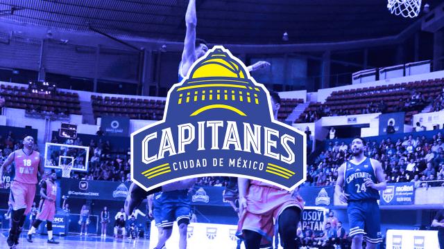 Capitanes CDMX LNBP equipo basquet grande liga