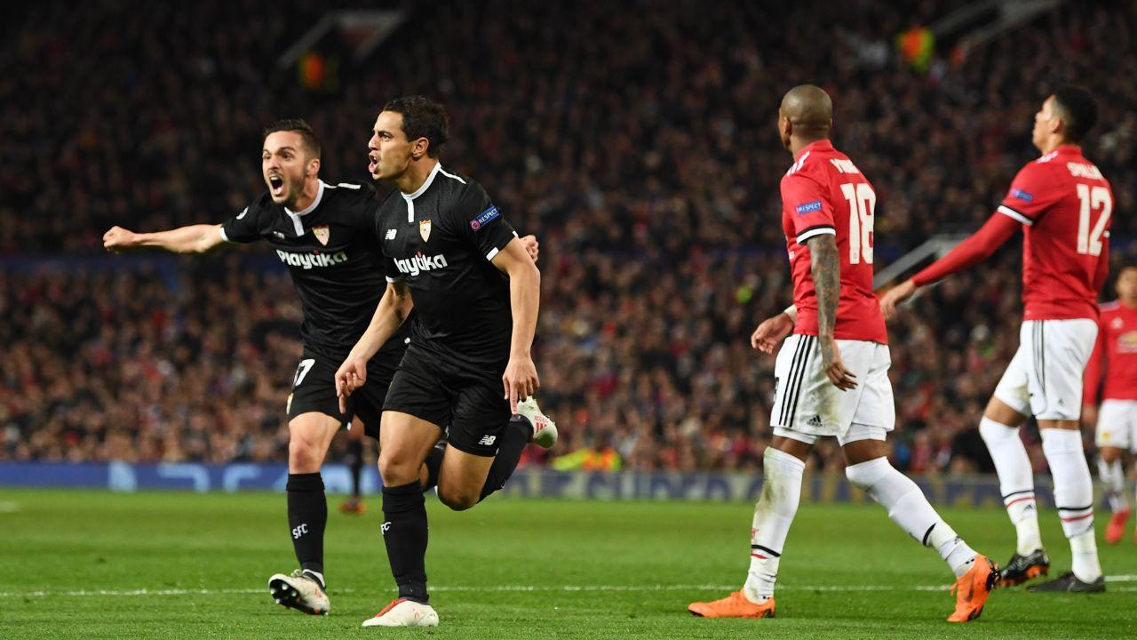Champions League, Octavos de Final, Cuartos de Final, Manchester United, Shakhtar Donetsk, Sevilla, Roma, Sorpresa, Goles, Avanzan